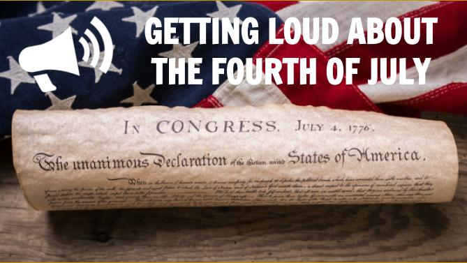 Getting loud about the 4th … and closing the gap
